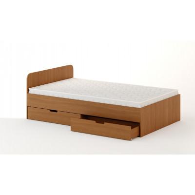 Кровать с ящиками 1200 (без матраца)