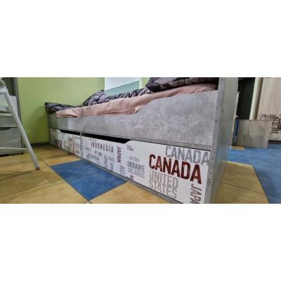 """Кровать-диван с ящиками """"Грей"""""""