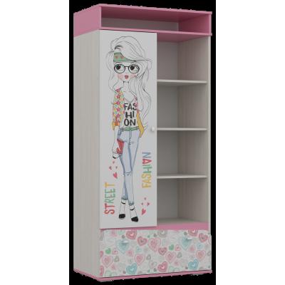 """Шкаф для детской """"Алиса-2"""""""