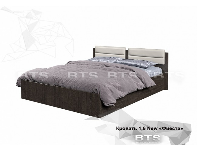 """Кровать 1,6м """"Фиеста"""" New"""