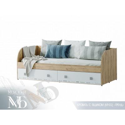 """Кровать с ящиками """"Тренд"""""""