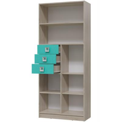 """Шкаф-стеллаж с дверкой и ящиками """"Сити"""""""