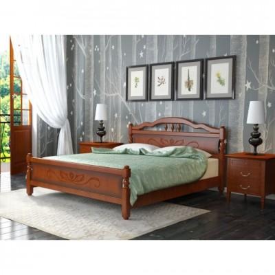 """Кровать """"Карина 5"""" 1,6 м Орех"""