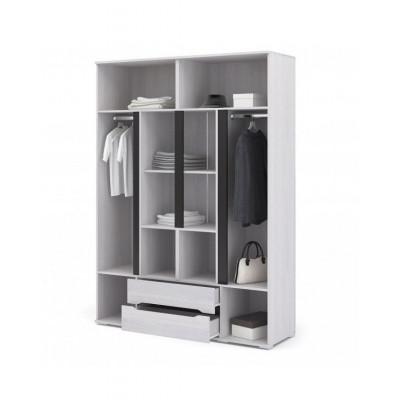 ШК014 шкаф 4-х створчатый с ящиками