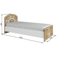 """Кровать 900 """"Юнга"""""""